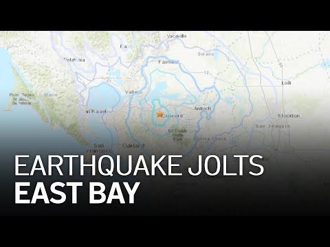 3.8 Magnitude Earthquake in Concord Felt Across Bay Area