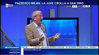 Milan Juve 4 - 2 con Tiziano Crudeli