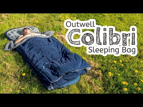 video Outwell Colibri Sleeping Bag