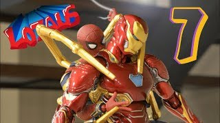 IRONMAN Stop Motion Action Video Part 7