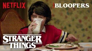 Stranger Things Season 1 Bloopers | Netflix