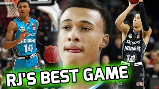 RJ Hampton Has His BEST GAME Since Going Overseas! Showcases His NBA POTENTIAL! 💯