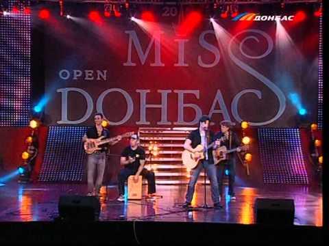 Miss Donbass Open 2011 Владимир Ткаченко - Тебя выбираю (LIVE)1.