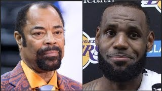 Clyde Frazier G CHECKS Lebron James, Says He DOESNT CARE ABOUT TEAM