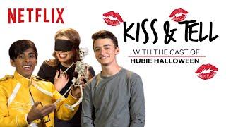 Noah Schnapp, Paris Berelc & Karan Brar Play Kiss & Tell | Hubie Halloween | Netflix
