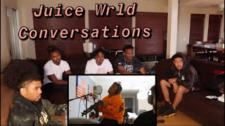 """Mbk Reacts to Juice Wrld """"Conversations""""  Official Music Video"""