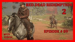 Red Dead Redemption 2 Walkthrough Part 89 - Visiting Charlotte (HD Let's Play By Xeriua)