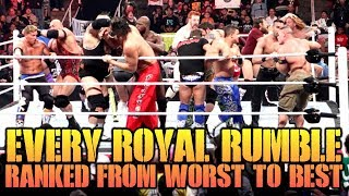 Every WWE Royal Rumble Match Ranked From Worst To Best