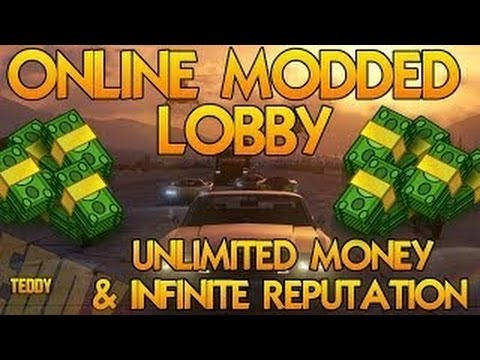 GTA 5 Unlimited Money Glitch   RP Hack - GTA V Online Modded Lobby - AFTER PATCH 1.08 - Hacked Lobby - Smashpipe Games
