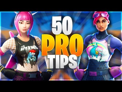 50 PRO TIPS TO BECOME A GOD IN FORTNITE! New Advanced Tips/Ultimate Guide (Fortnite Battle Royale)