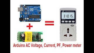 AC- VOLTAGE & CURRENT SENSORS WITH ARDUINO ( POWER CIRCUITE