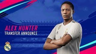 FIFA 19 -  Alex Hunter annuncia il suo trasferimento al Real Madrid