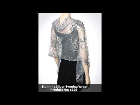 Best Collection fo Eveving Shawls at YoursElegantly