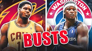 Top 10 Biggest Draft BUSTS In NBA History
