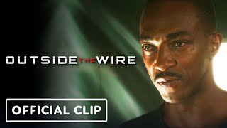 Netflix's Outside the Wire: Exclusive Official Clip (2021) - Anthony Mackie, Damson Idris