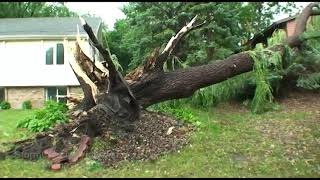 Burnsville, MN Severe Weather V-Log - 7/10/2008
