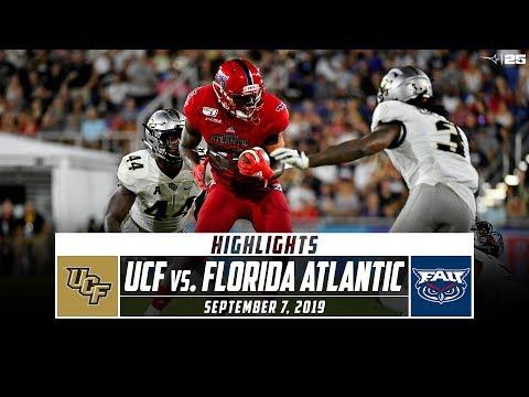 No. 18 UCF vs. Florida Atlantic Football Highlights (2019) | Stadium