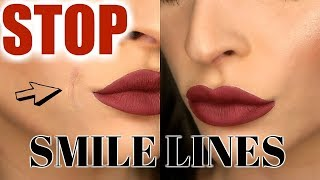 HOW TO STOP FOUNDATION SMILE LINE CREASING | QUICK & EASY