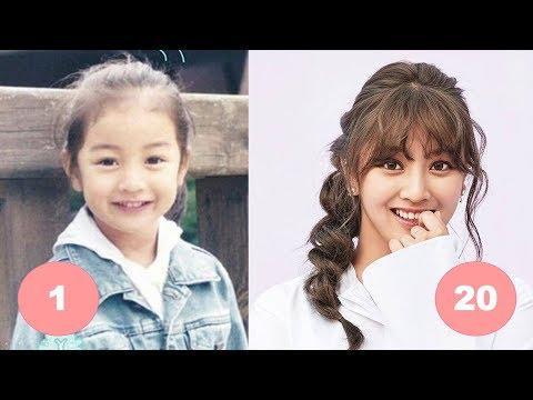 Jihyo TWICE Childhood   From 1 To 20 Years Old