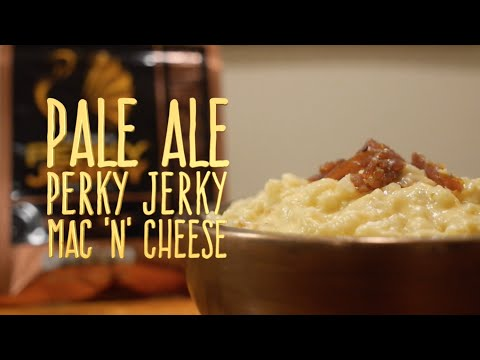Pale Ale Perky Jerky Mac 'n' Cheese