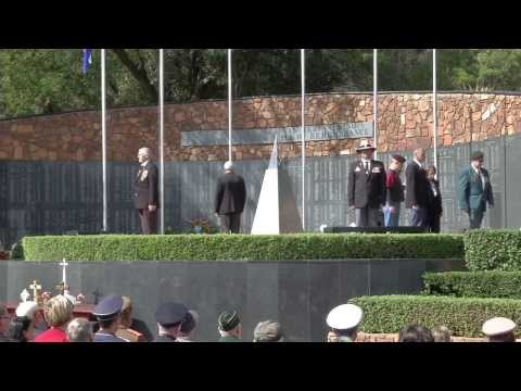 Annual Commemoration Service at the SA Defence Force Wall of Remembrance