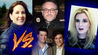 Colin Trevorrow Star Wars Episode 9 vs Kathleen Kennedy
