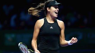 Ana Ivanovic vs Simona Halep | 2014 WTA Finals Highlights