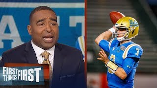 Cris Carter on Josh Rosen: He knows nothing about pro football | FIRST THINGS FIRST