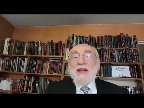 Michel Gugenheim, Grand Rabbin de Paris   Matot Massé   Le caractère bipolaire de la création