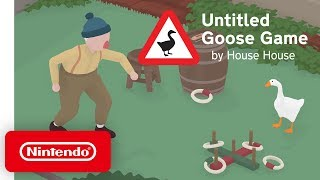 Untitled Goose Game - Launch Trailer - Nintendo Switch