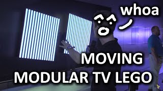 The Modular TVs of the Future - Samsung Booth - CES 2016