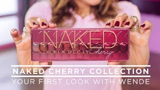 Wende Reveals the Naked Cherry Collection   NEW from Urban Decay