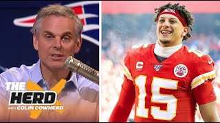 THE HERD | Colin Cowherd SHOCKED NFL top 100: 1. Lamar 2. Russel 3. Donald 4. Mahomes