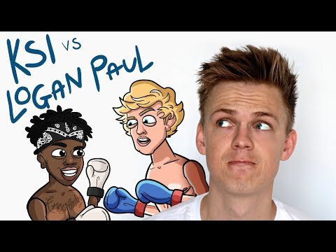 KSI VS. LOGAN PAUL FIGHT PREDICTION By Caspar Lee [Animation]