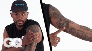 'Superfly' Star Trevor Jackson Breaks Down His Tattoos   GQ