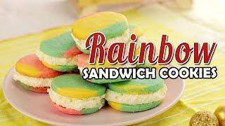 How To Make Rainbow Sandwich Cookies