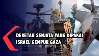 Ini Deretan Senjata yang Digunakan Israel untuk Gempur Gaza