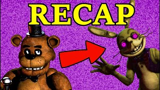 Five Nights at Freddy's COMPLETE LORE RECAP (FNaF 1 - FNaF AR)