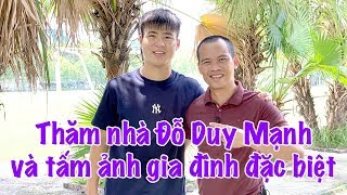 Thăm nhà Duy Mạnh phần 1 & tấm ảnh người yêu   Vlog Minh Hải