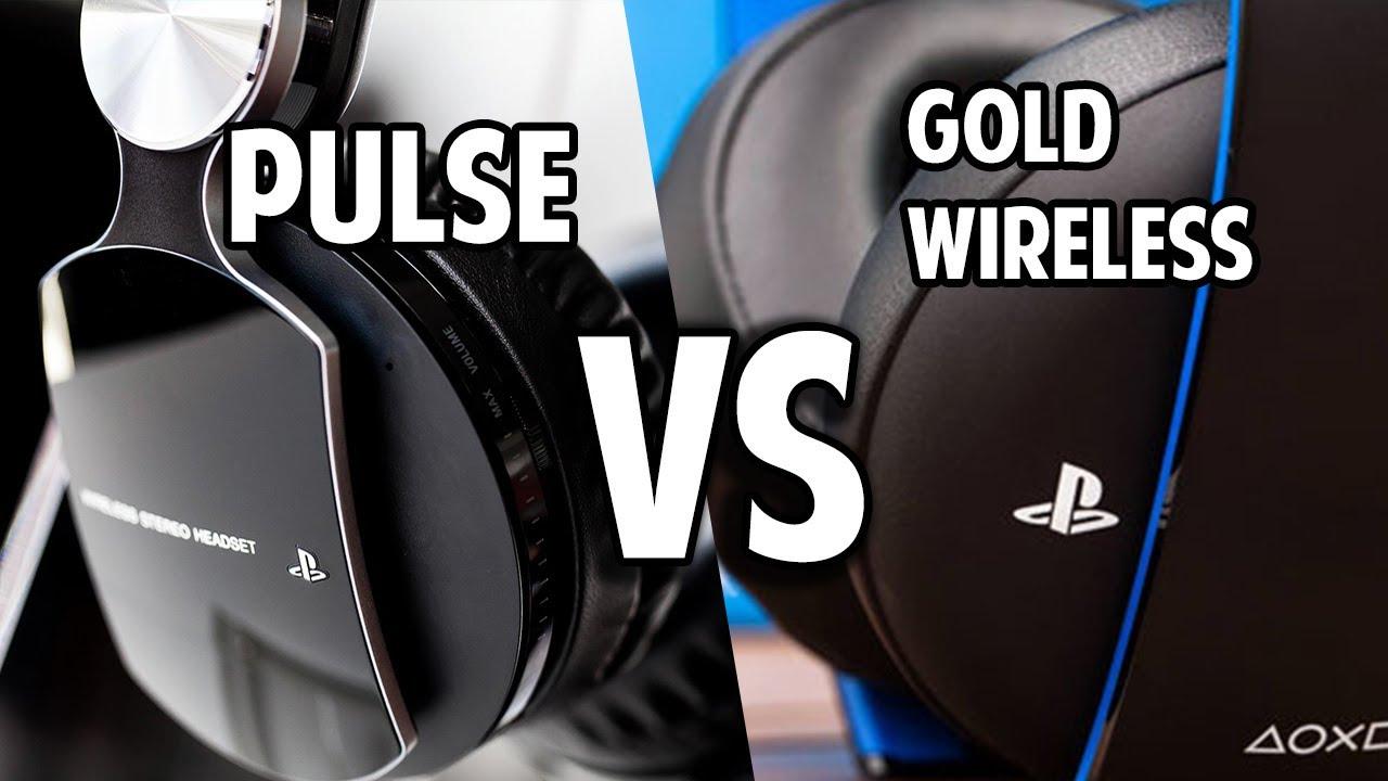 comparison gold wireless headset vs pulse elite edition headset ps3 ps4 youtube. Black Bedroom Furniture Sets. Home Design Ideas