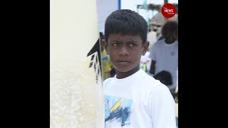 Meet Kishore the youngest surfer at the Covelong surf festival