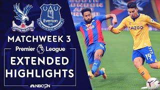 Crystal Palace v. Everton   PREMIER LEAGUE HIGHLIGHTS   9/26/2020   NBC Sports