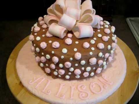 My First Cake Post Wilton Courses 21st Birthday Cake