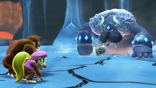 Donkey Kong Country: Tropical Freeze - All Boss Fights (No Damage)