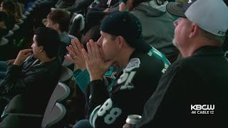 Shark Fans Disappointed By End Of Team's Stanley Cup Dream This Season