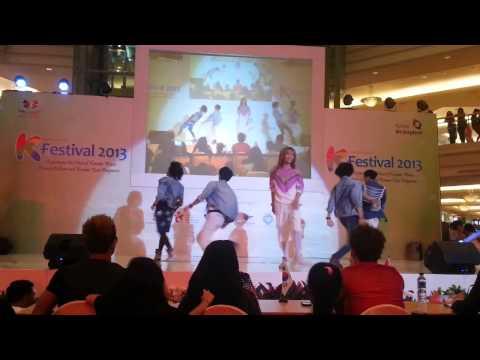 [130421] Luminous(SHINee Cover Dance) - Hello, Replay, Sherlock @KTO Final, Taman Anggrek