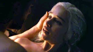 Emilia Clarke and Kit Harington React on Their Love Scene (GOT Behind The Scenes) Jon / Dany Romance