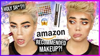 FULL FACE OF AMAZON RECOMMENDED MAKEUP!? Y'all...OMG!   Thomas Halbert