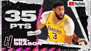 Anthony Davis 35 Points in 3 Qtrs Full Highlights vs Suns | December 18, 2020 NBA Preseason