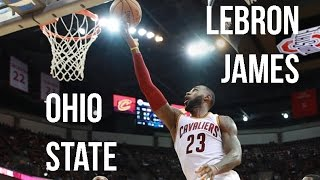 LeBron James' Performance At Ohio State In NBA Preseason!